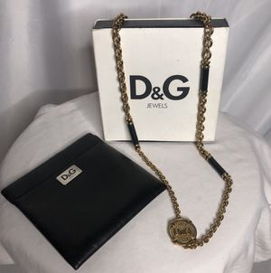 Dolce and Gabbana Gold Pendant Chain Necklace for Sale in Las Vegas, NV