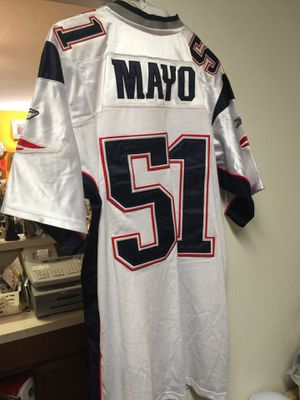 Patriots Mayo Stitched Size 48 Jersey for Sale in Washougal, WA