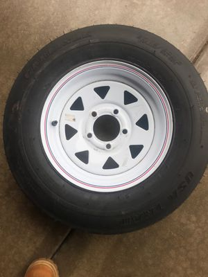 5 log trailer tire ST175/80D13 for Sale in Romeoville, IL