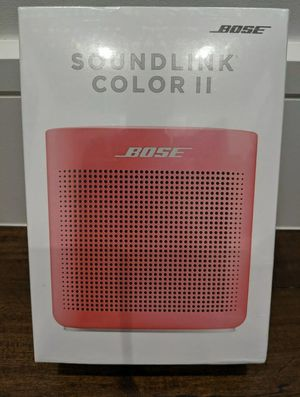 Bose Soundlink color 2 Bluetooth wireless speaker for Sale in Waxahachie, TX