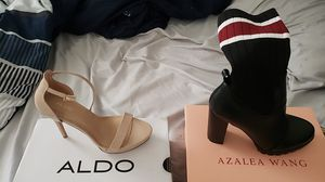 Aldo high heels 7.5 and Azalewang High heel Boots 7.5 brand new in box! for Sale in Evanston, IL