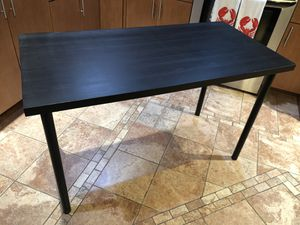 "IKEA LINNMON / ADILS Table, black-brown, black, 47 1/4x23 5/8 "" for Sale in NJ, US"