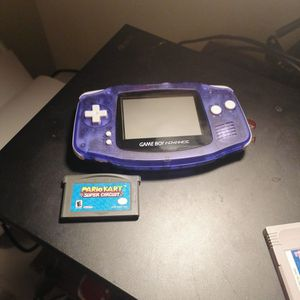 New Shell Refurbished Gameboy Advance With Mario Kart for Sale in Nipomo, CA