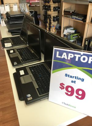 Dell laptops. With windows and warranty for Sale in Seattle, WA
