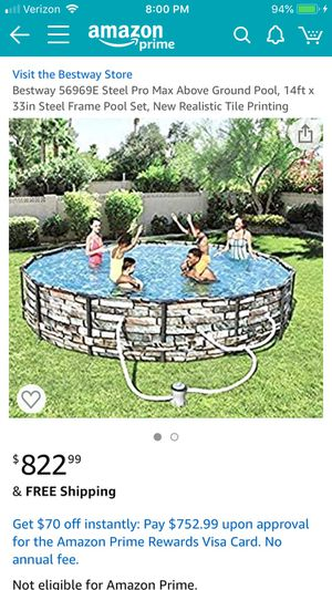 Handyman Special: Used Bestway 14' Pool for Sale in Butler, PA