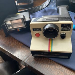 Vintage Polaroid SX-70 One Step Rainbow Stripe Instant Land Camera for Sale in Fort Worth, TX