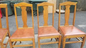 3 antique wooden chairs for Sale in Fairview, OR