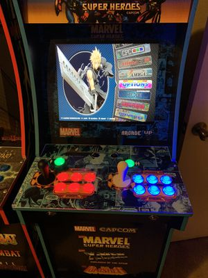 Arcades - 3/4 scales arcades with thousands of games custom paint and for Sale in Plano, TX