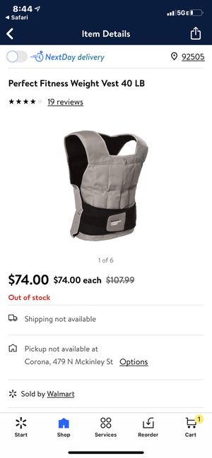 Brand new Weight vest for Sale in Riverside, CA