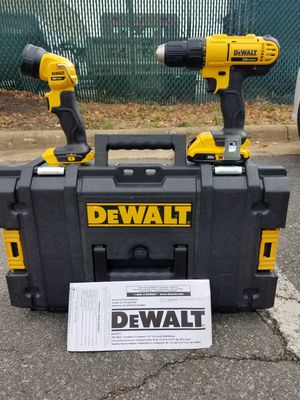 New dewalt 20v MAX drill/driver combo kit with toughsystem tool case for Sale in Ashburn, VA
