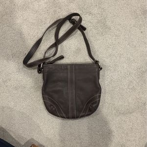 Coach - Brown Leather Crossbody Purse for Sale in Columbia, SC