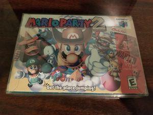 Mario Party 2 w/ Orginal Box!! for Sale in Pinellas Park, FL