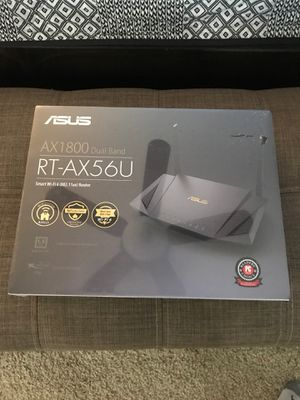 New in box ASUS AX1800 computer Router for Sale in Camas, WA