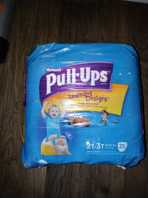 Huggies pull ups boys for Sale in Phoenix, AZ
