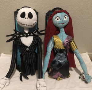 The Nightmare Before Christmas: Poseable Jack & Sally for Sale in Visalia, CA