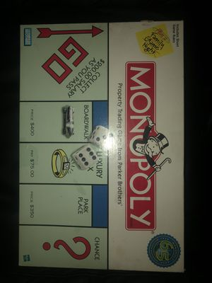 ORIGINAL MONOPOLY BOARD GAME [1998-99] for Sale in Elmwood Park, NJ
