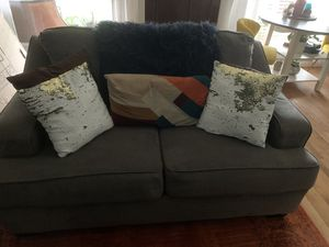 Ashley Furniture Love Seat and Sofa for Sale in Greater Landover, MD