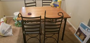 Breakfast Table & 4 Chairs for Sale in Austin, TX