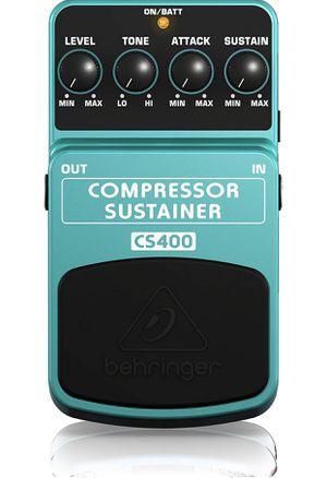 Behringer Compressor/Sustainer CS400 Ultimate Dynamics Effects Pedal for Sale in Windsor Locks, CT