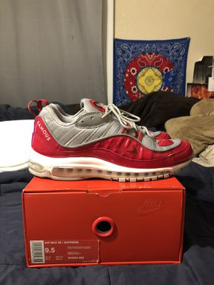 Supreme x Nike Air Max 98 for Sale in Farmers Branch, TX