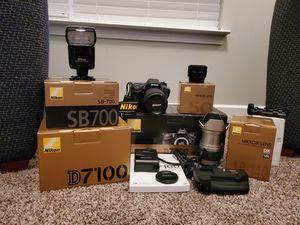 Nikon D7100 Camera, Lenses and Accessories for Sale in Villa Rica, GA