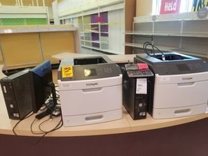 Two computers, printers and one monitor for Sale in Austin, TX