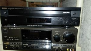 Technics receiver, Yamaha compact disc player for Sale in Traverse City, MI