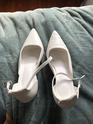 ASOS Pointed White Block Heels for Sale in Brookline, MA