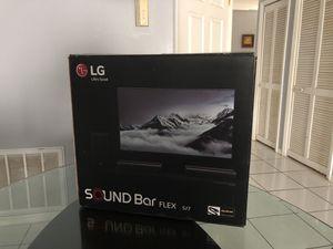 LG Soundbar Flex SJ7 for Sale in Kissimmee, FL