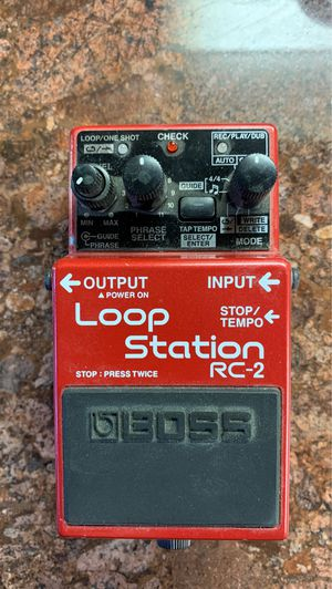 Boss rc2 loop station pedal for Sale in San Jose, CA