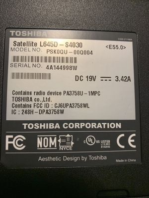 Toshiba Laptop for Sale in Columbia, SC