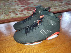 Size 12 Jordan Retro 6 Infrared 2019 for Sale in Silver Spring, MD