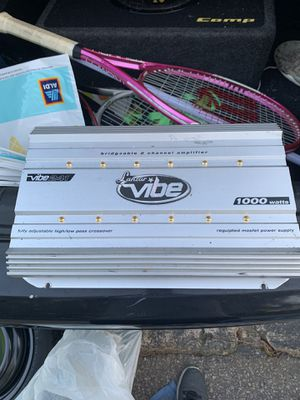 "1000 watt Lanzar Vibe Amp with Enclosed 10"" Kicker CompC Subwoofer for Sale in West Columbia, SC"