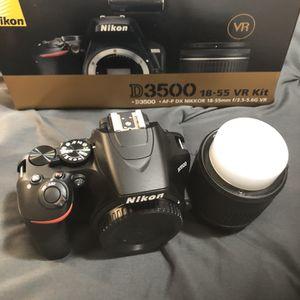 Nikon D3500 (NIB) for Sale in Hyattsville, MD