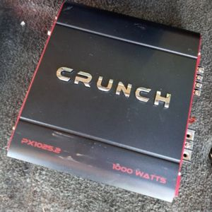 Crunch 1000 Watts Amp for Sale in Santa Ana, CA