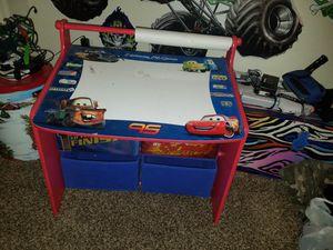 Cars themed kids desk for Sale in Scottsdale, AZ
