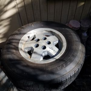 jeep Cherokee xj wheels for Sale in Fort Lauderdale, FL