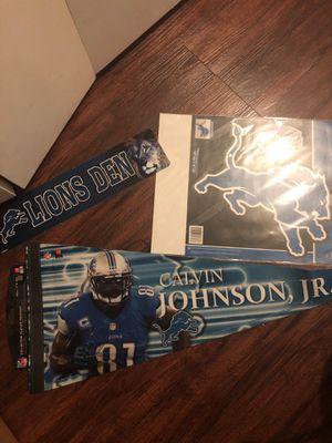 Detroit Lions memorabilia for Sale in Detroit, MI