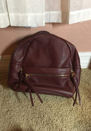 Maroon leather backpack purse for Sale in Avondale, AZ