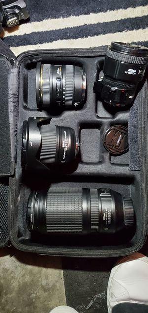 Misc set Nikon Lenses (Amazing Deal!) for Sale in Atlanta, GA
