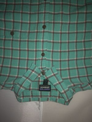 Patagonia Teal Organic Cotton Large Button Up for Sale in Lorton, VA