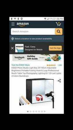 LED shooting tent kit for Sale in North Las Vegas,  NV