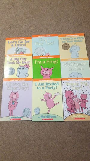 Set of 9 books Elephant and Piggie for Sale in Los Angeles, CA