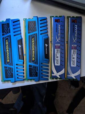 Corsair Vengeance and Hyper X DDR3 for Sale in St. George, UT