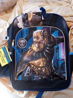 """Marvel 16"""" Black Panthers Backpack for Sale in Mojave,  CA"""