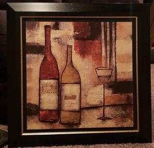 Painting of wine bottles for Sale in Tacoma, WA