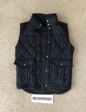 Men's Banana Republic Navy Blue Zip Up Vest sz XS for Sale in Temecula, CA