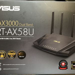 Asus Router - RT-AX58U - AiMesh for Sale in Issaquah, WA