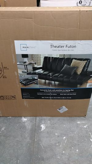 Leather futon brand new for Sale in Portsmouth, VA