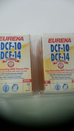 EUREKA DCF-10 & DCF-14 Vacuum Filter for Sale in Springfield, VA